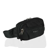 Мужская поясная сумка Onepolar W3001-black