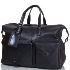 Дорожная кожаная сумка TOFIONNO (ТОФИОННО) TU3200-1-black