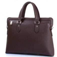"""Мужская сумка из качественного кожезаменителя  с карманом для ноутбука с диагональю экрана  до 12,6"""" BONIS (БОНИС) SHI1641-33"""