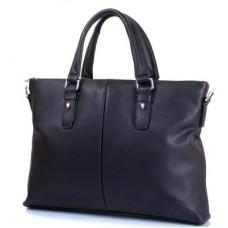 """Мужская сумка из качественного кожезаменителя  с карманом для ноутбука с диагональю экрана  до 12,6"""" BONIS (БОНИС) SHI1662-3"""