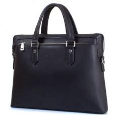 """Мужская сумка из качественного кожезаменителя  с карманом для ноутбука с диагональю экрана  до 12,6"""" BONIS (БОНИС) SHI1641-3"""