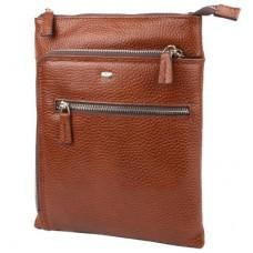 Кожаная мужская сумка через плечо DESISAN SHI1459-015