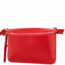 Женская кожаная поясная сумка ETERNO AN-K139-RED