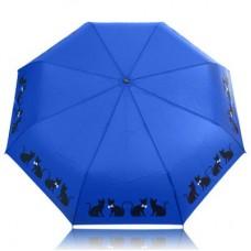Зонт женский автомат DOPPLER (ДОППЛЕР) DOP7441465C06-navy