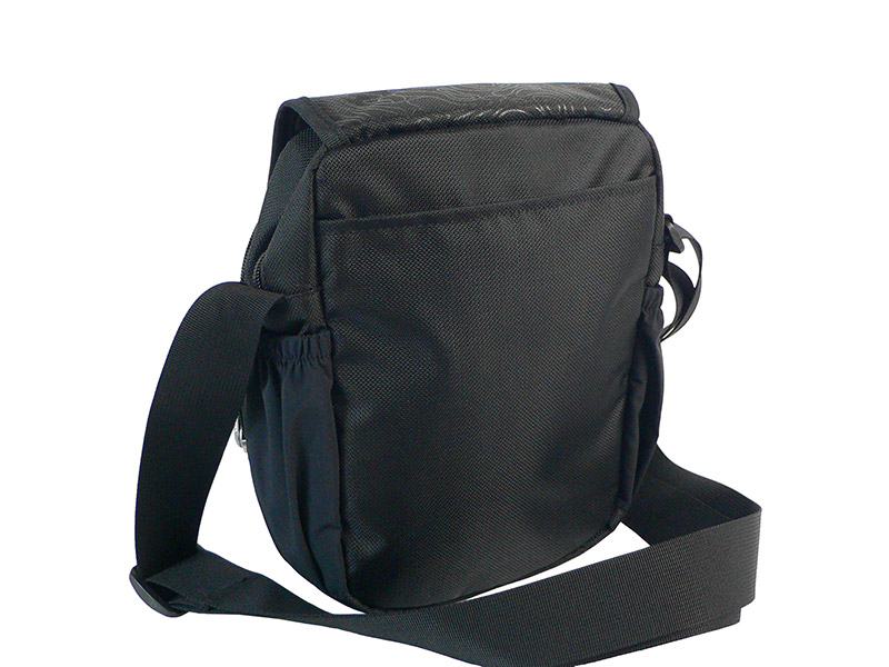 Мужская спортивная сумка ONEPOLAR (ВАНПОЛАР) W5631. Задний накладной карман