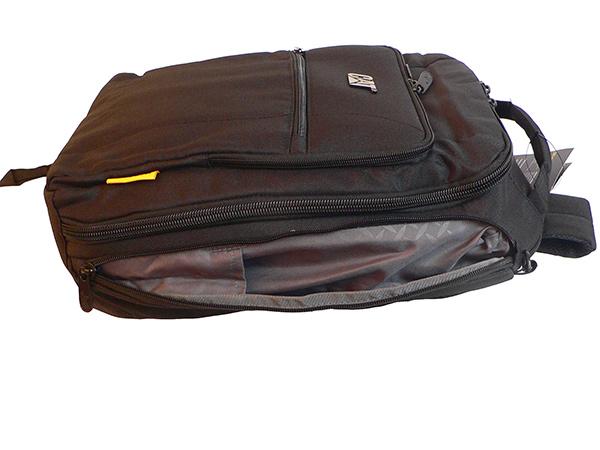 Рюкзак для ноутбука CAT BIZZ TOOLS. Боковые карманы
