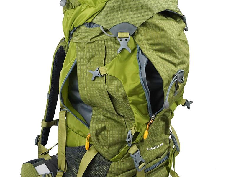 Боковые карманы рюкзака
